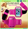 Fashion Mobile Phone Armbands Gym Running Sport Arm Band Cover Protective Phone Bags For Iphone 6 4.7 Inch Top Quality