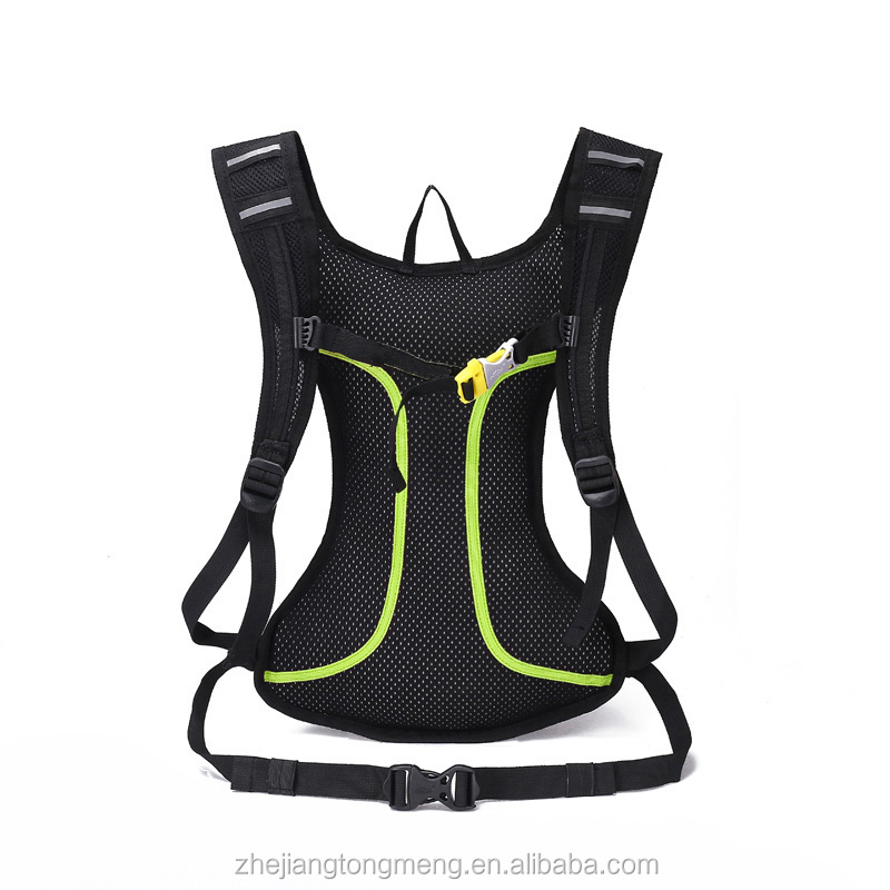Black Running Cycling Backpack Bicycle Cycling Sport Bags Light Waterproof Riding Backpacks