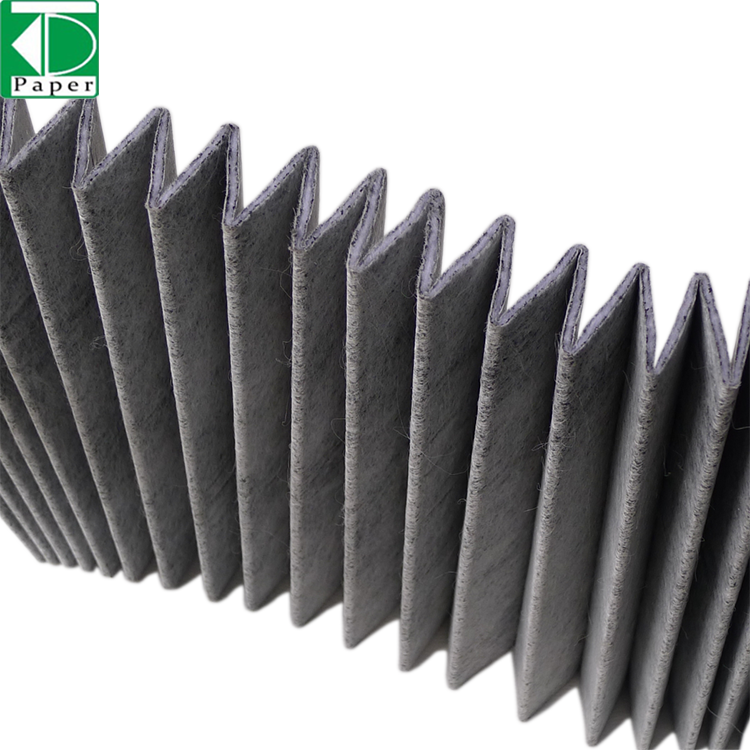High quality ventilation hydroponics air filter paper activated carbon filter paper
