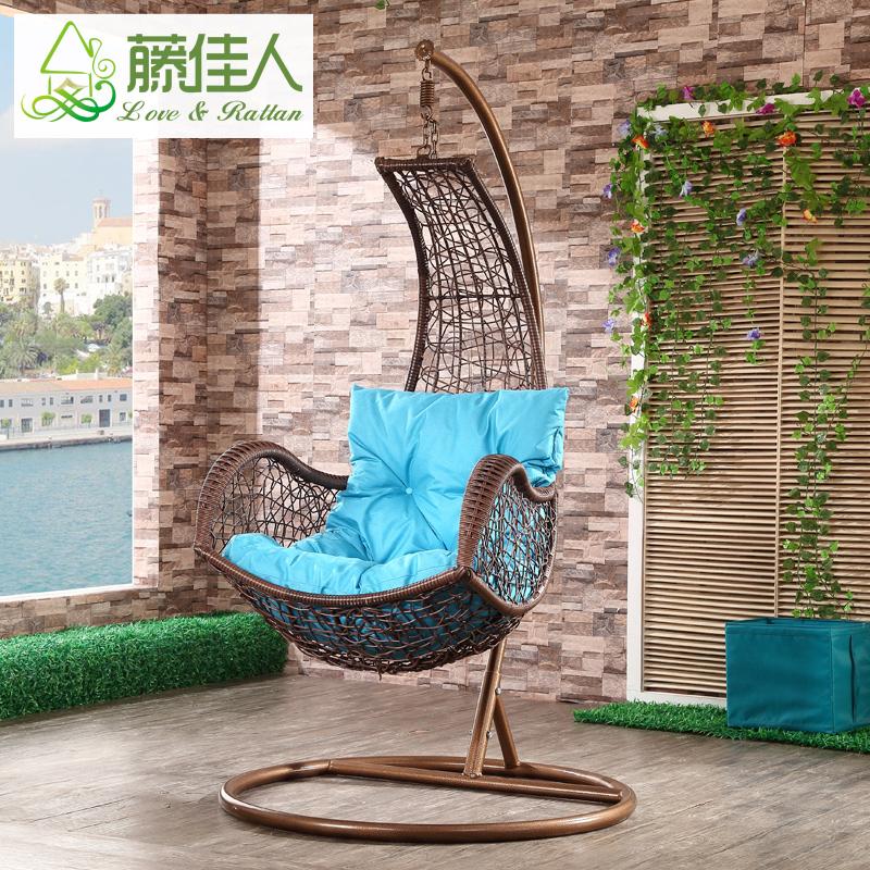 le ext rieure bay patio poire forme r sine en osier rotin balan oire suspendue chaise d 39 oeufs. Black Bedroom Furniture Sets. Home Design Ideas
