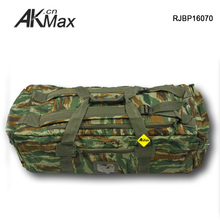 Multifunctional Digital Woodland Camo Duffle Bag Asian Military Use