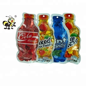 Custom Mix Fruity Mint Cola Ball Shaped Candy Drink Bottle Bag Pack Hard Candy