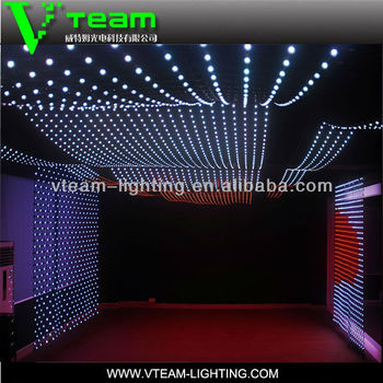 Rgb Stage Light Dmx Decoration Soft Led Curtain Screen