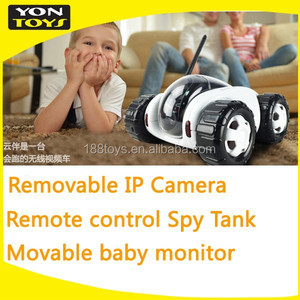 2016 free shipping new products wireless remote control car with HD camera removable cctv
