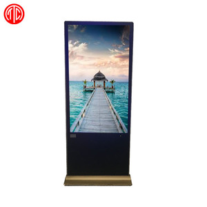 43 inch Floor Standing Android no touch with USB and LAN interface