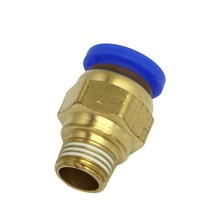PC8-01 Air Rechte 1/8 ''Man 8mm Tube Push Fit Fitting Connector
