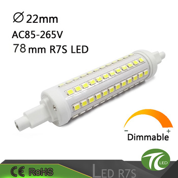 Replacement J-type 5w 78mm led r7s light
