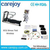 Wireless ECG Stress Test System WiFi with ST Software Kit+Trolley+ Treadmill