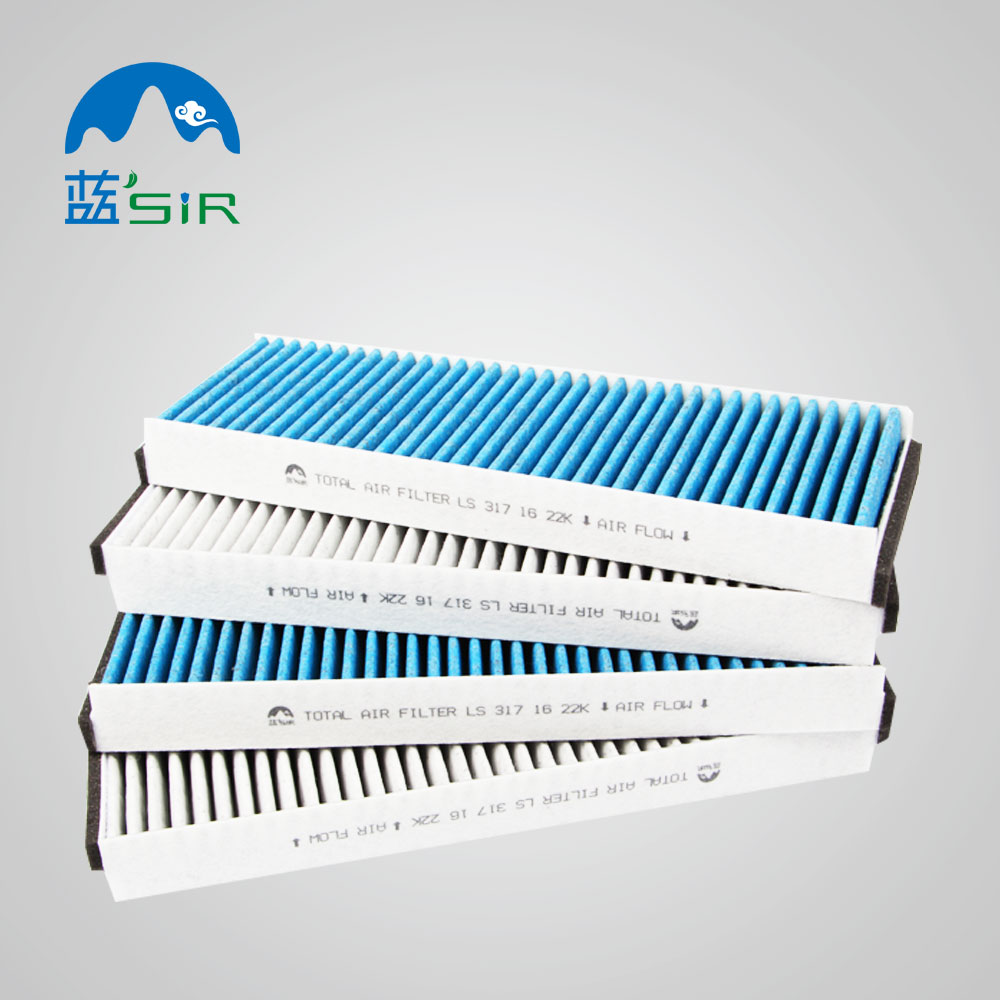 Shanghai manufacturer OEM cabin air filter with charcoal