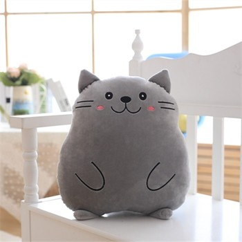 The New Cute Creative Standing Fat Cat Cushion And Pillow Stuffed