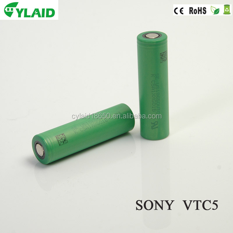 sample free vtc5 30A 2600mah for sony li ion nmc battery for car