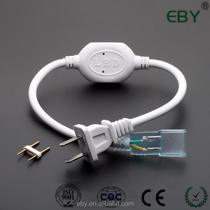 220V Power cord with waterproof plug for 100 meters SMD 3528 SMD 5050 SMD 2835 high voltage led strips