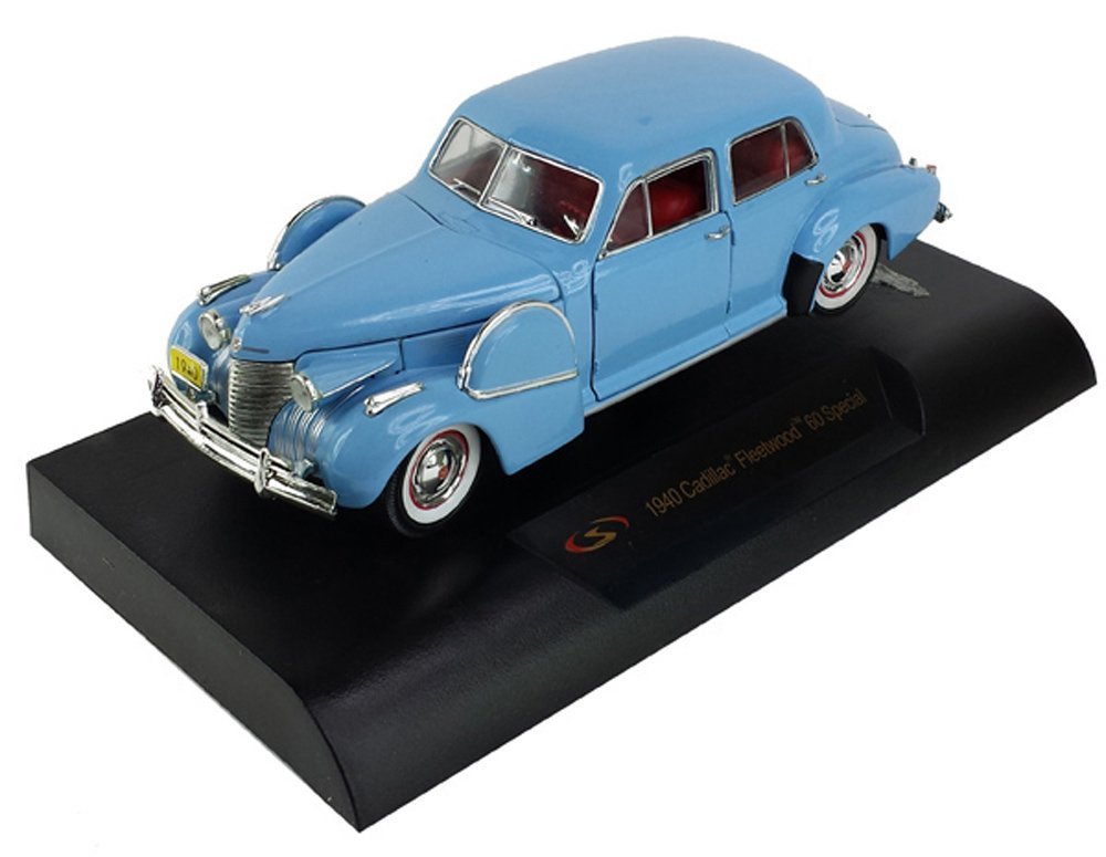 1940 Cadillac Sixty Special Blue 1/32 by Signature Models 32361