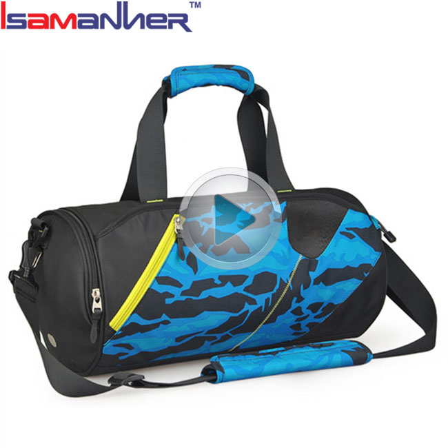 Fashion travel bags with compartments, Durable custom practical pro sports bag