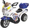 Police Motorcycle Toy Car for Kids with Sound and Tool Box