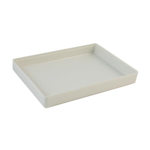 Airline large rectangular plastic heat resistant food container