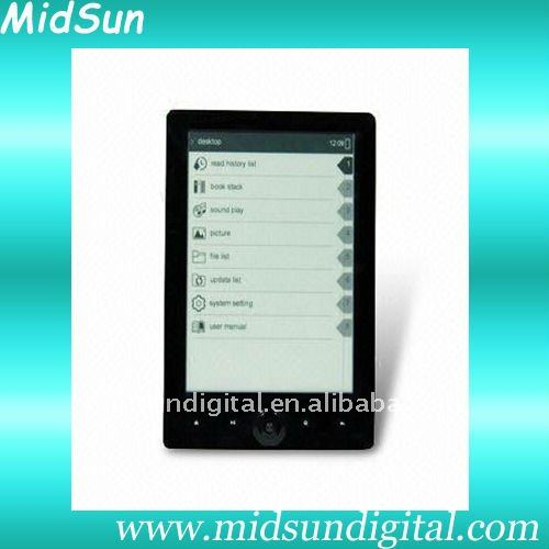 e-book,wifi,3G,e-ink,TF Card slot,touch screen,spiral notebook,mid ,notebook,ebook