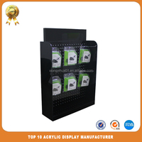 table top rotating display stand for phone accessory