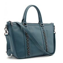 CSS2051-001 2017 New American style OEM Genuine leather Casual women bag Soft leather tote handbag