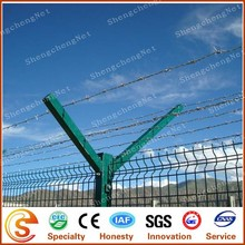 PVC fence Y shape post baluster eletric boundary security fencing for protection