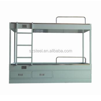 Anti-rust Metal Frame Cheap Design Double Decker Marine Bunk Bed ...