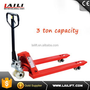 3 ton hydraulic pump pallet truck with CE certificate