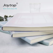 Joytop Memory and dreams B5 PVC soft cover paper notebook with plastic cover for gift & promotion 5059