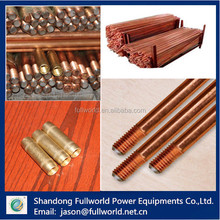 high quality Steel Copper clad Weld Steel Ground Rods\/Earth Rods