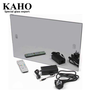 37 inch Bathroom and restroom magic mirror display advertising, magic mirror tv, digital advertising mirror with motion sensor