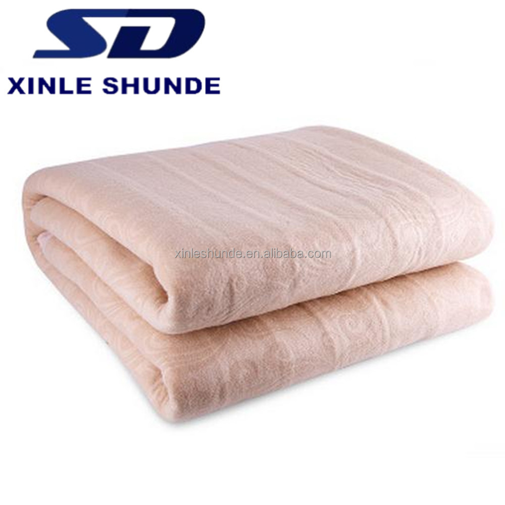 King And Queen Size Plush Electric Heating Blankets