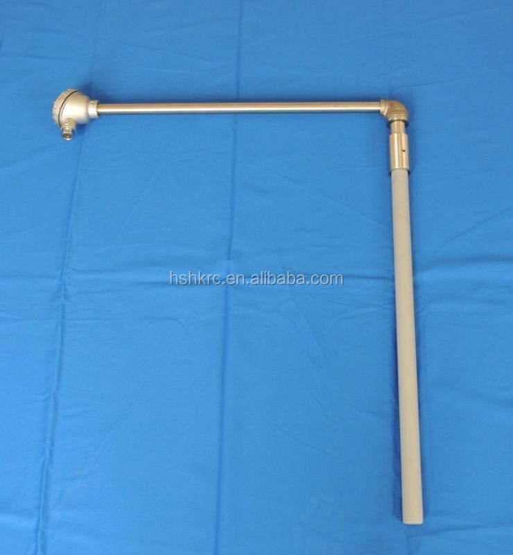 Si3N4 Protection Tube with thermocouple head used for Foundry Equipment