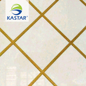 2018 New Arrival Marble Royal Ceramic Floor Tiles with Colored Epoxy Grout For Sale
