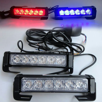 Red Blue Led Grille Lights For Emergency Vehicle/car Surface Mounted  Flashing Lights Tbe-168 2c6 - Buy Emergency Led Light,Warning Blue Led  Light,Red