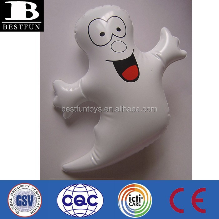 Promotional customized factory OEM pvc inflatable Halloween Ghost soft vinyl ghost balloon hanging portable ghost