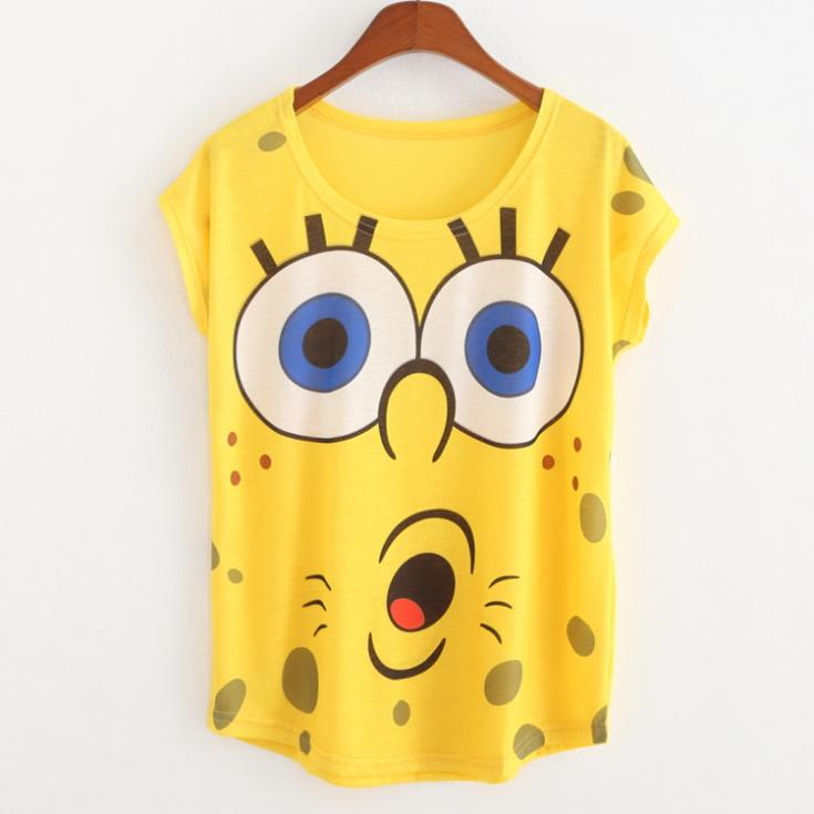 ce12f40926 Get Quotations · women clothing 2015 new fashion t shirt women loose tees  tops for women yellow cotton tee