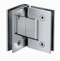Stainless Steel 180 Degree Glass Clamp Shower Door Hinge