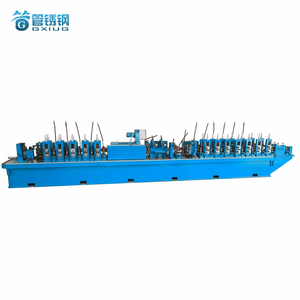 GH45 HF Metal Mild Steel Aluminum Alloy Pipe Fabrication Production Line Guarding Fence Door Tube Mill