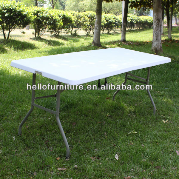 6FT Outdoor Folding Trestle Table
