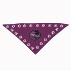 Custom design print pet triangle dog bandana