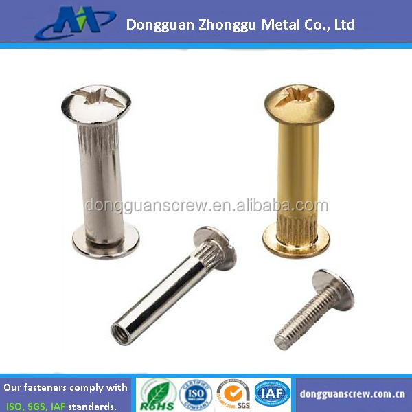2015 Zhonggu M6*30mm Furniture Cabinet Connecting Screws