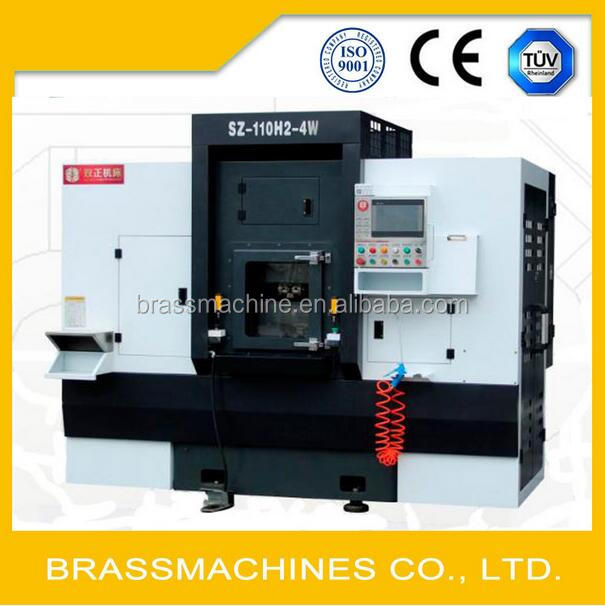 Brass Valve Ring Rotary Boring Tapping Special Machine
