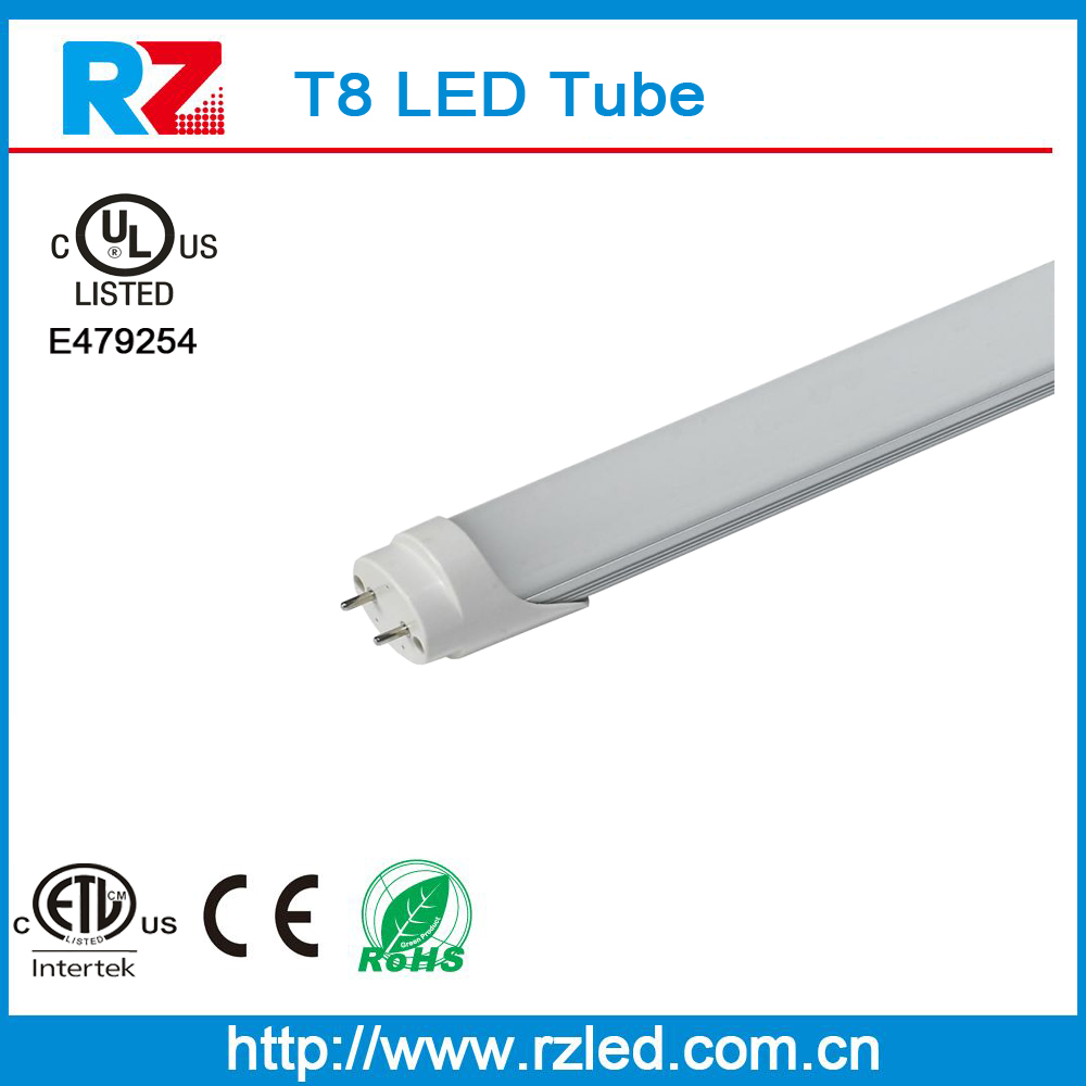 Pure white premium quality led tube 8tube lighting led zoo tu 8 led tube CE ROHS ETL UL approval with 3 years warranty