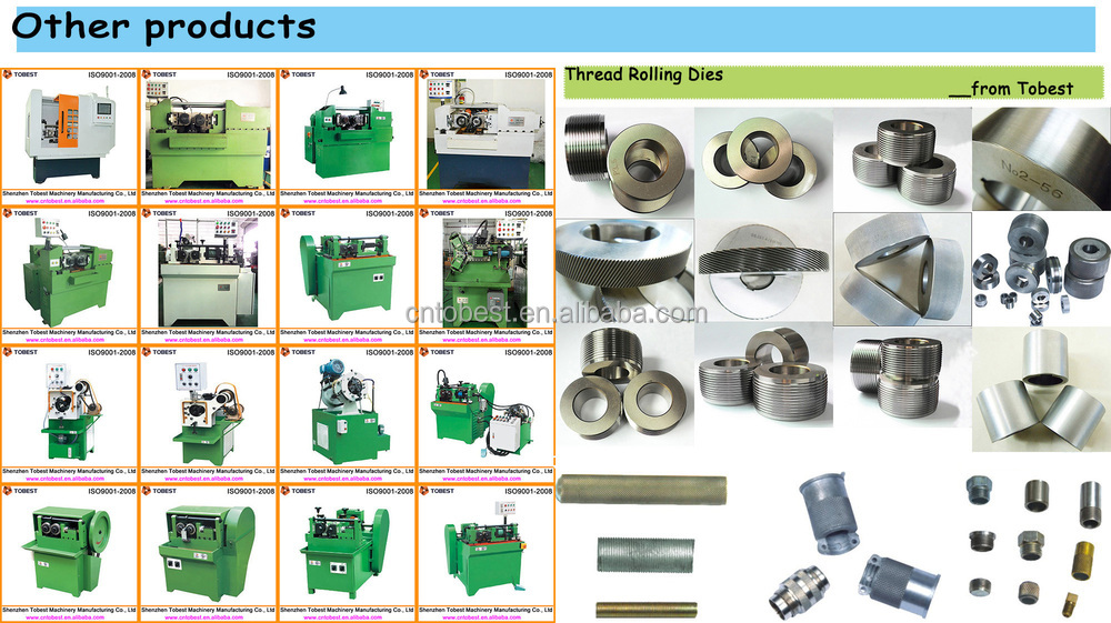 small size screws and rods thread rolling machine  bolt making machine