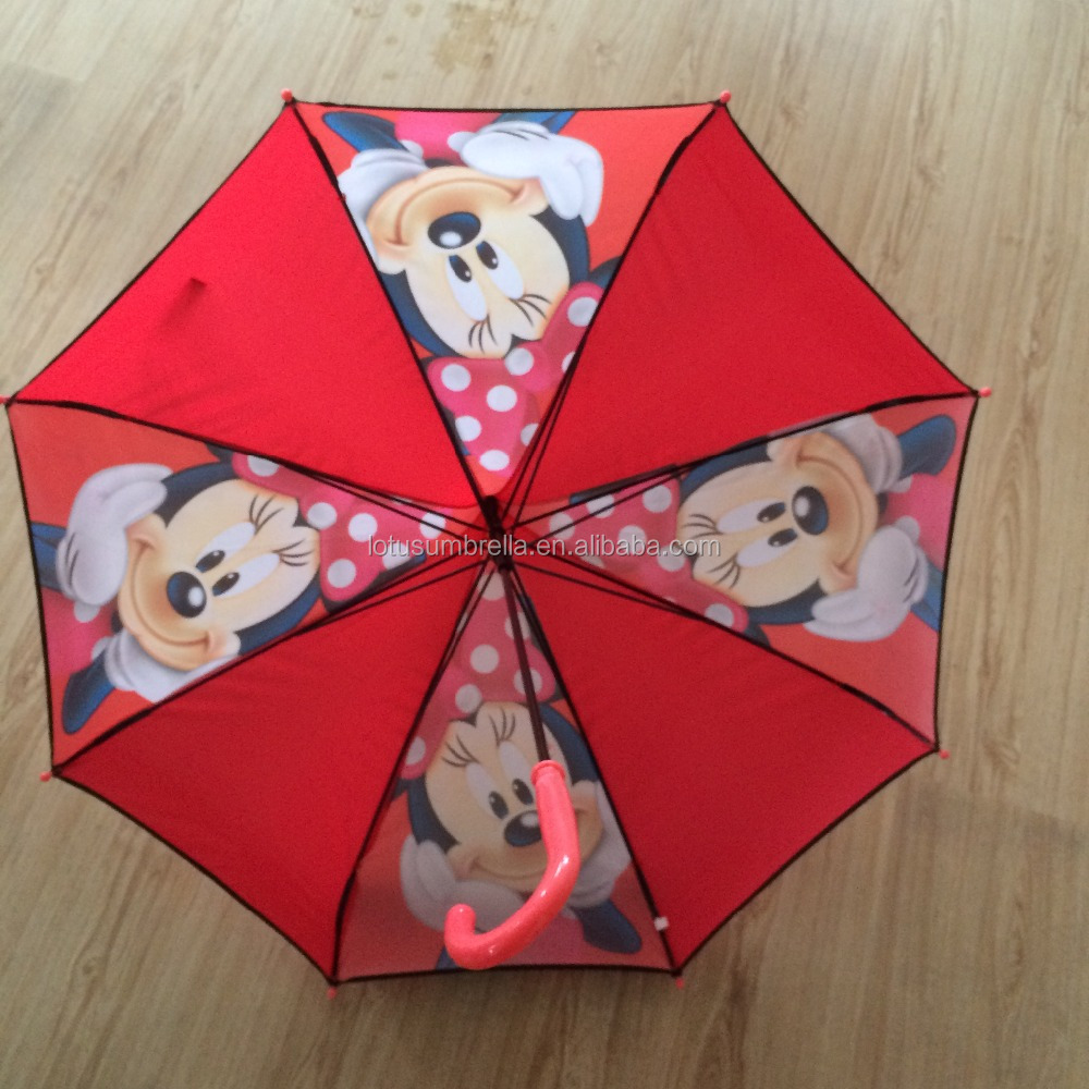 Fishing Unique Mickey Mouse kids pagoda umbrella