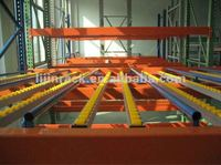 industrial automation equipment glide stock pallet racking