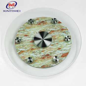 wholesale tempered glass 4 inch lazy susan