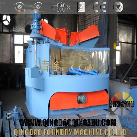 Q35 Series Rotary Table Shot Blasting Machine For Cleaning Billets
