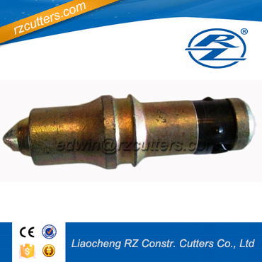 High Performance trenching drill round shank tool/ trencher teeth