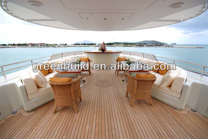 Factory Price Luxury Marine Yacht Teak Wood Decking Price