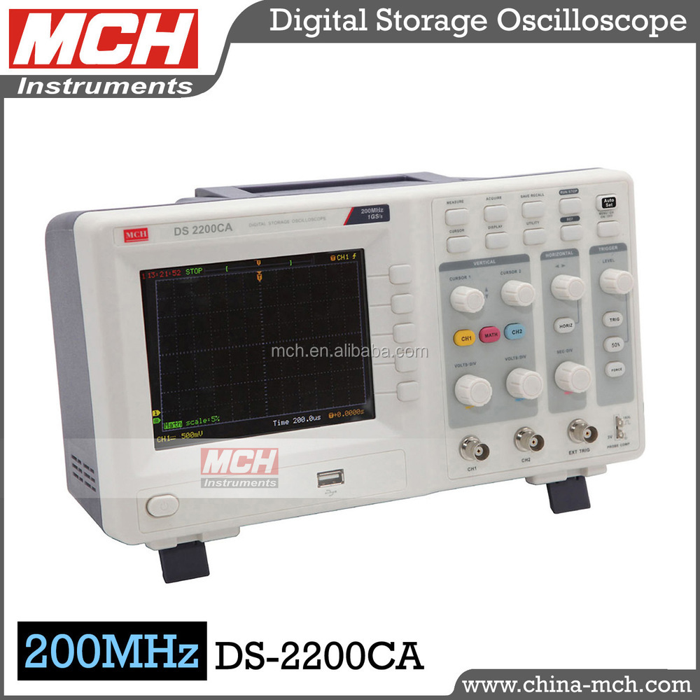 Lab Used MCH factory industrial digital storage oscilloscope DS-2200CA